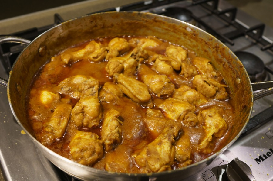 Shalini's Famous Chicken Curry
