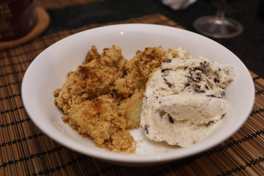 Ben's Apple Crumble