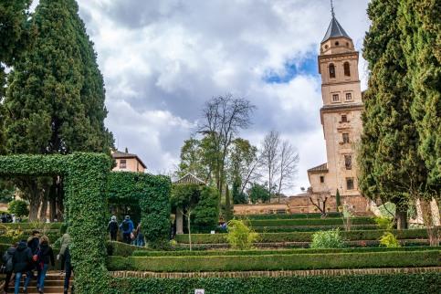 The Generalife Gardens