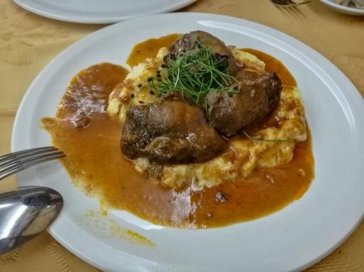Stewed Pork cheeks - delicious!