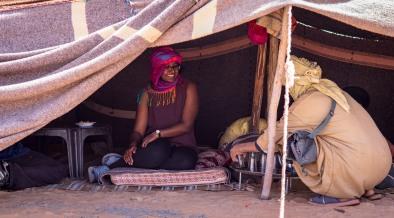 Visited the Berber nomads