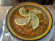 Fish and lemon tagine