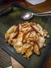 Salted cod dish